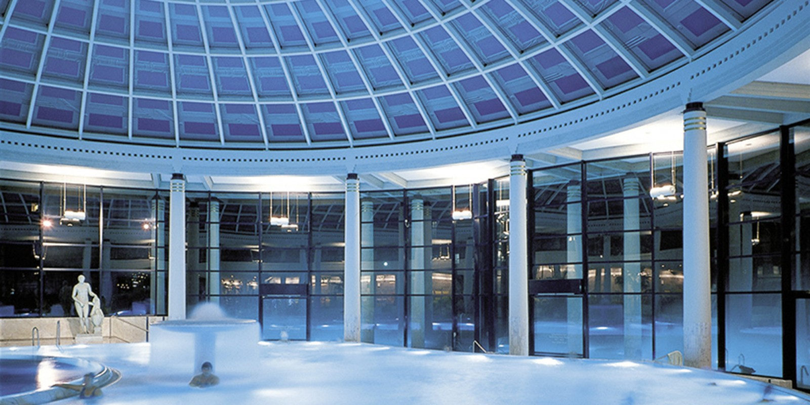 Restaurant le grand casino de baden, suisse